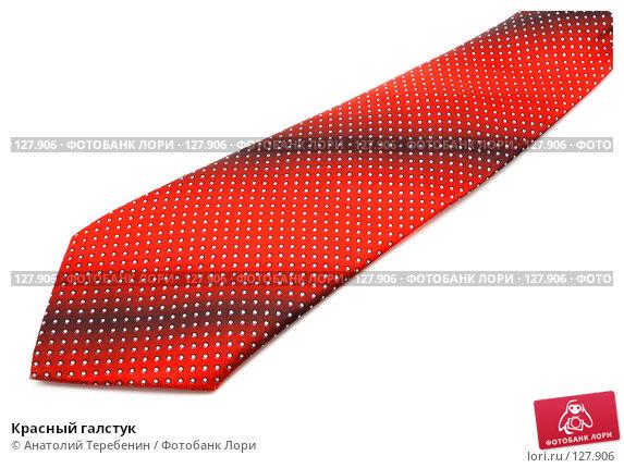 Красный галстук, фото № 127906, снято 24 ноября 2007 г. (c) Анатолий Теребенин / Фотобанк Лори