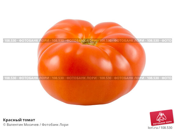 Красный томат, фото № 108530, снято 5 мая 2007 г. (c) Валентин Мосичев / Фотобанк Лори