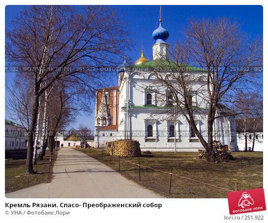 Кремль Рязани. Спасо- Преображенский собор, фото № 251922, снято 29 марта 2008 г. (c) УНА / Фотобанк Лори