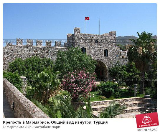 Крепость в Мармарисе. Общий вид изнутри. Турция , фото № 6250, снято 12 июля 2006 г. (c) Маргарита Лир / Фотобанк Лори