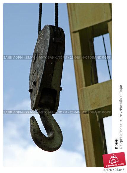 Купить «Крюк», фото № 25046, снято 25 ноября 2017 г. (c) Сергей Лаврентьев / Фотобанк Лори