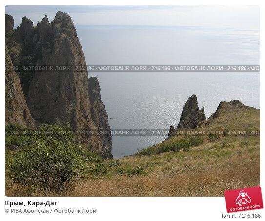 Крым, Кара-Даг, фото № 216186, снято 13 сентября 2006 г. (c) ИВА Афонская / Фотобанк Лори