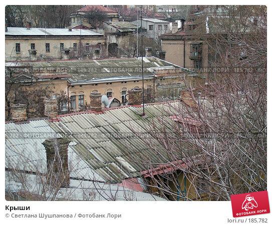 Крыши, фото № 185782, снято 10 января 2006 г. (c) Светлана Шушпанова / Фотобанк Лори