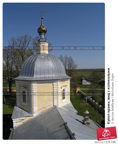Купить «Купол храма, вид с колокольни», фото № 275190, снято 2 мая 2008 г. (c) Антон Алябьев / Фотобанк Лори