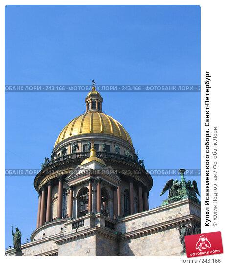 Купол Исаакиевского собора. Санкт-Петербург, фото № 243166, снято 5 апреля 2008 г. (c) Юлия Селезнева / Фотобанк Лори