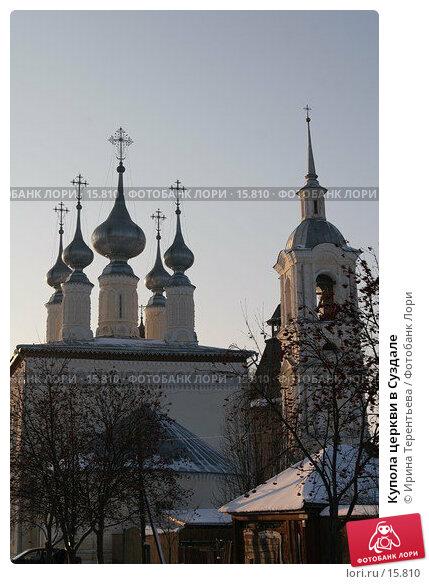 Купола церкви в Суздале, эксклюзивное фото № 15810, снято 6 ноября 2006 г. (c) Ирина Терентьева / Фотобанк Лори