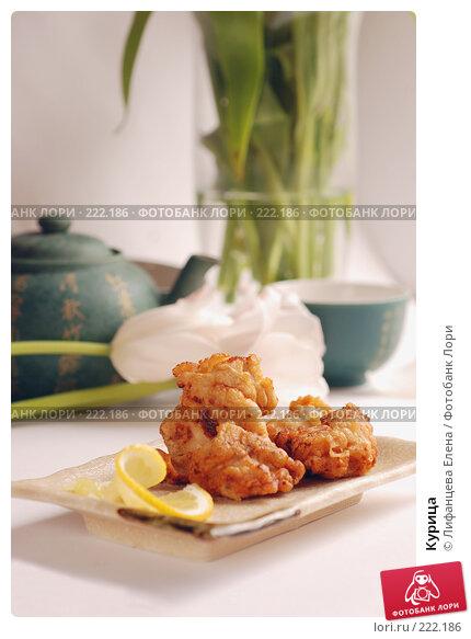 Купить «Курица», фото № 222186, снято 11 марта 2008 г. (c) Лифанцева Елена / Фотобанк Лори