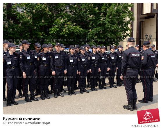 Купить «Курсанты полиции», фото № 28433474, снято 27 мая 2016 г. (c) Free Wind / Фотобанк Лори