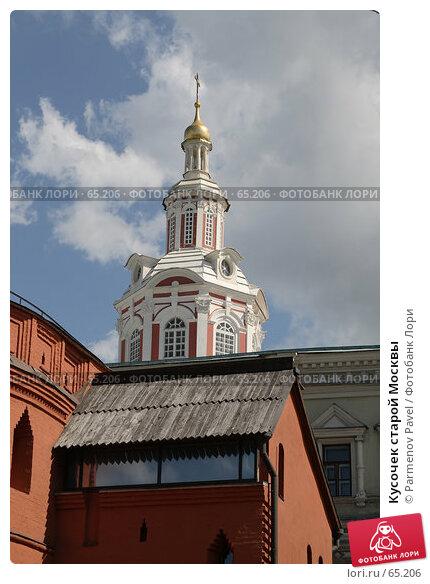 Кусочек старой Москвы, фото № 65206, снято 16 июля 2007 г. (c) Parmenov Pavel / Фотобанк Лори