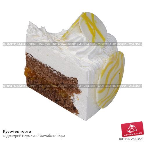 Кусочек торта, эксклюзивное фото № 254358, снято 8 июня 2006 г. (c) Дмитрий Неумоин / Фотобанк Лори