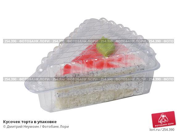 Кусочек торта в упаковке, эксклюзивное фото № 254390, снято 14 июня 2006 г. (c) Дмитрий Неумоин / Фотобанк Лори