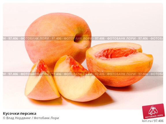 Кусочки персика, фото № 97406, снято 13 августа 2007 г. (c) Влад Нордвинг / Фотобанк Лори