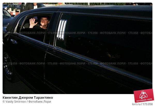 Квентин Джером Тарантино, фото № 173058, снято 16 июня 2004 г. (c) Vasily Smirnov / Фотобанк Лори