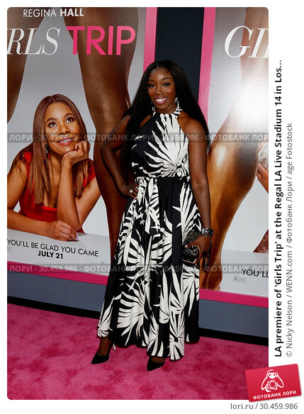LA premiere of 'Girls Trip' at the Regal LA Live Stadium 14 in Los... (2017 год). Редакционное фото, фотограф Nicky Nelson / WENN.com / age Fotostock / Фотобанк Лори