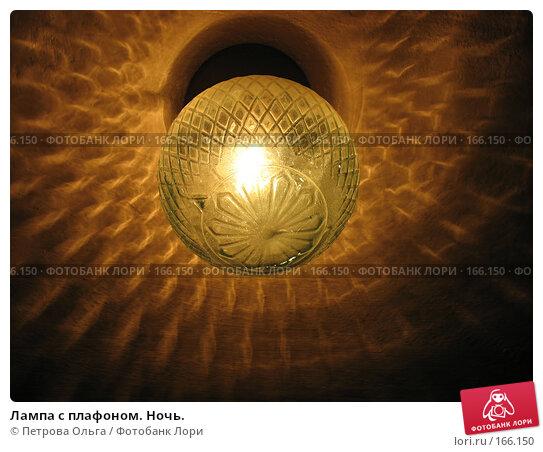 Купить «Лампа с плафоном. Ночь.», фото № 166150, снято 22 декабря 2007 г. (c) Петрова Ольга / Фотобанк Лори