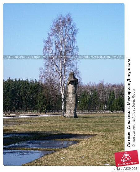 Латвия. Саласпилс. Мемориал Девушкам, фото № 239098, снято 29 марта 2008 г. (c) maruta bekina / Фотобанк Лори