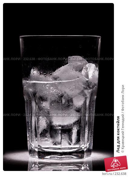 Купить «Лед для коктейля», фото № 232638, снято 2 октября 2005 г. (c) Кравецкий Геннадий / Фотобанк Лори
