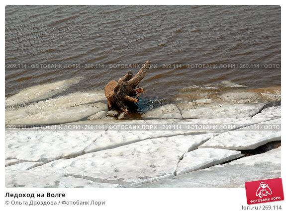 Ледоход на Волге, фото № 269114, снято 10 апреля 2005 г. (c) Ольга Дроздова / Фотобанк Лори