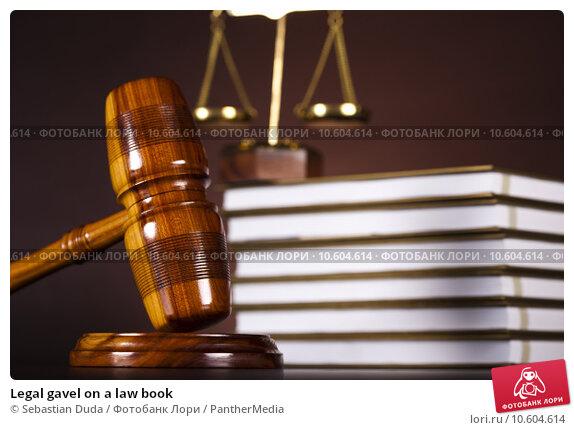 Купить «Legal gavel on a law book », фото № 10604614, снято 22 апреля 2019 г. (c) PantherMedia / Фотобанк Лори