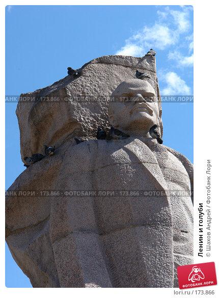 Ленин и голуби, фото № 173866, снято 1 июня 2006 г. (c) Шахов Андрей / Фотобанк Лори