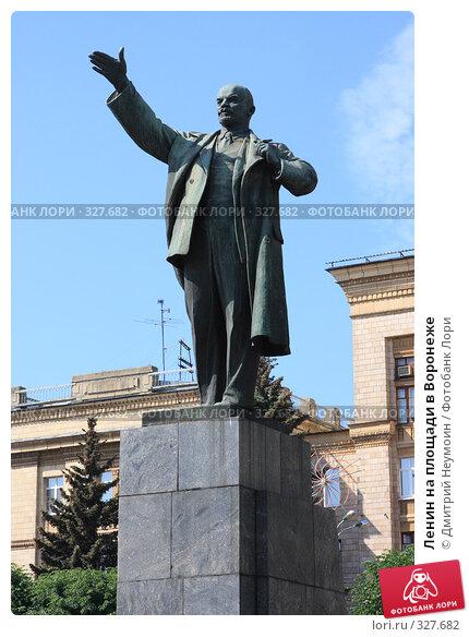 Ленин на площади в Воронеже, эксклюзивное фото № 327682, снято 15 июня 2008 г. (c) Дмитрий Неумоин / Фотобанк Лори