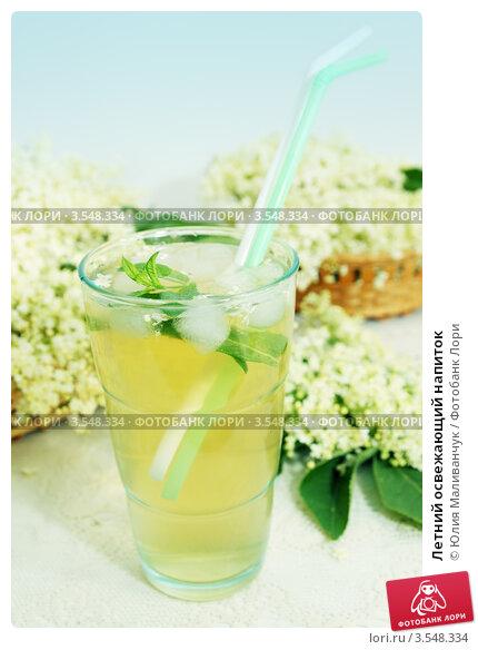 Купить «Летний освежающий напиток», фото № 3548334, снято 25 мая 2012 г. (c) Юлия Маливанчук / Фотобанк Лори