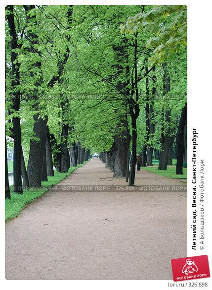 Летний сад. Весна. Санкт-Петербург, фото № 326898, снято 18 мая 2008 г. (c) A Большаков / Фотобанк Лори