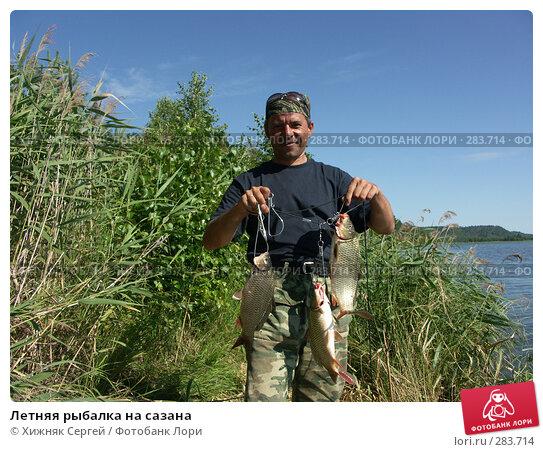 Летняя рыбалка на сазана, фото № 283714, снято 4 августа 2007 г. (c) Хижняк Сергей / Фотобанк Лори