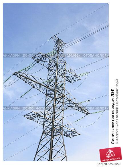 Линия электро передач ЛЭП, фото № 250050, снято 15 марта 2008 г. (c) Алексеенков Евгений / Фотобанк Лори