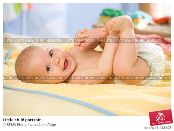 Купить «Little child portrait.», фото № 6482378, снято 18 мая 2019 г. (c) BE&W Photo / Фотобанк Лори