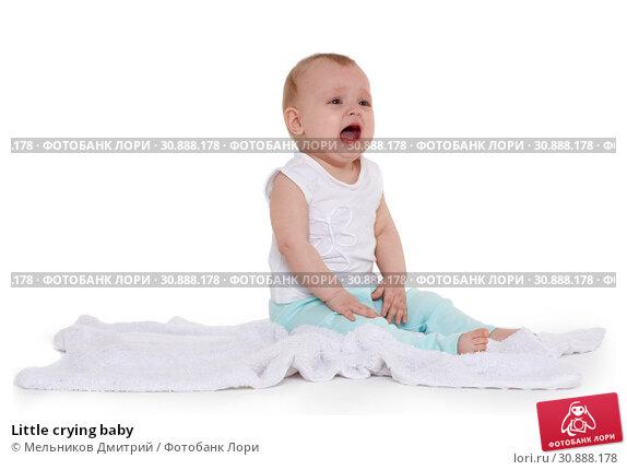 Little crying baby. Стоковое фото, фотограф Мельников Дмитрий / Фотобанк Лори