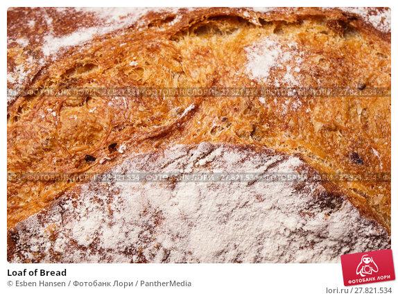 Купить «Loaf of Bread», фото № 27821534, снято 20 октября 2018 г. (c) PantherMedia / Фотобанк Лори