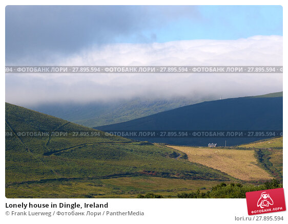 Купить «Lonely house in Dingle, Ireland», фото № 27895594, снято 19 апреля 2019 г. (c) PantherMedia / Фотобанк Лори