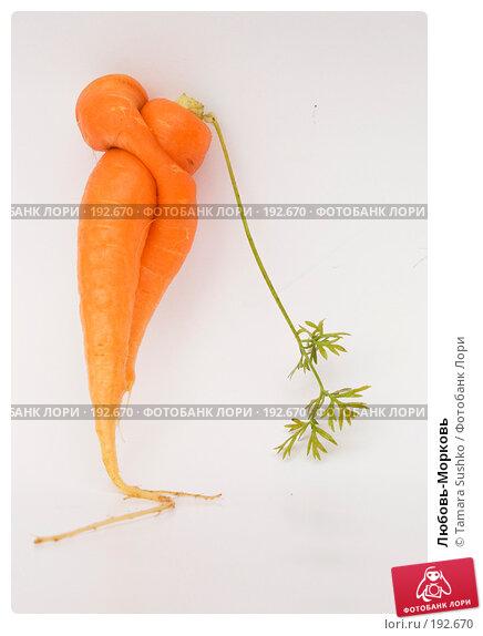 Купить «Любовь-Морковь», фото № 192670, снято 1 октября 2007 г. (c) Tamara Sushko / Фотобанк Лори
