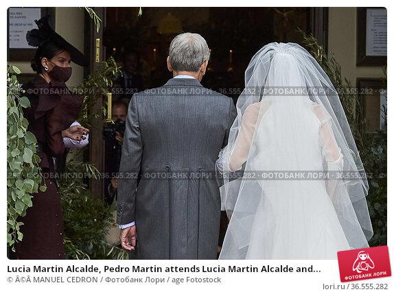 Lucia Martin Alcalde, Pedro Martin attends Lucia Martin Alcalde and... Редакционное фото, фотограф ©MANUEL CEDRON / age Fotostock / Фотобанк Лори