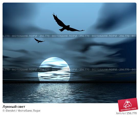 Лунный свет, иллюстрация № 256770 (c) ElenArt / Фотобанк Лори