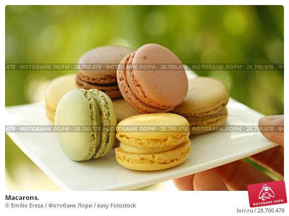 Купить «Macarons.», фото № 28700478, снято 9 июня 2018 г. (c) easy Fotostock / Фотобанк Лори