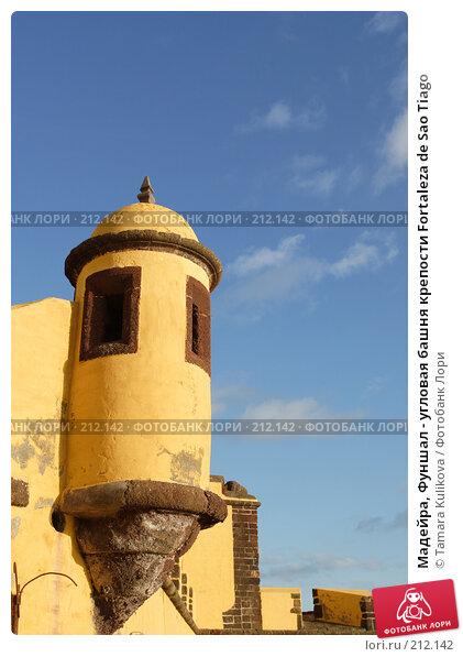 Мадейра, Фуншал - угловая башня крепости Fortaleza de Sao Tiago, фото № 212142, снято 1 января 2008 г. (c) Tamara Kulikova / Фотобанк Лори
