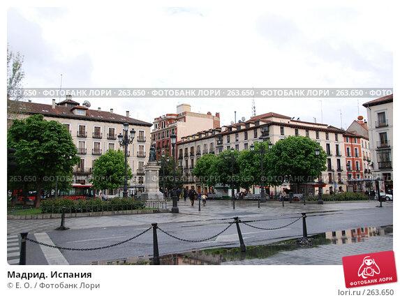 Купить «Мадрид. Испания», фото № 263650, снято 19 апреля 2008 г. (c) Екатерина Овсянникова / Фотобанк Лори