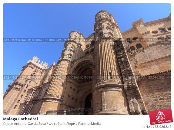 Купить «Malaga Cathedral», фото № 33086842, снято 18 февраля 2020 г. (c) PantherMedia / Фотобанк Лори
