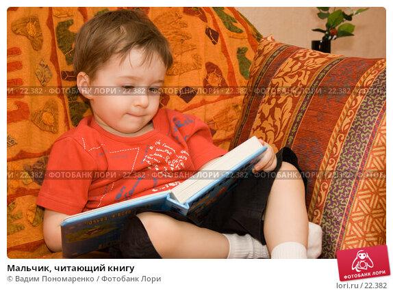 Купить «Мальчик, читающий книгу», фото № 22382, снято 24 февраля 2007 г. (c) Вадим Пономаренко / Фотобанк Лори