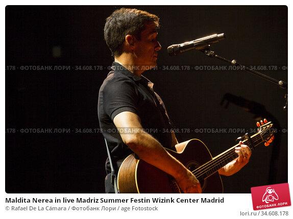 Maldita Nerea in live Madriz Summer Festin Wizink Center Madrid. Редакционное фото, фотограф Rafael De La Cámara / age Fotostock / Фотобанк Лори