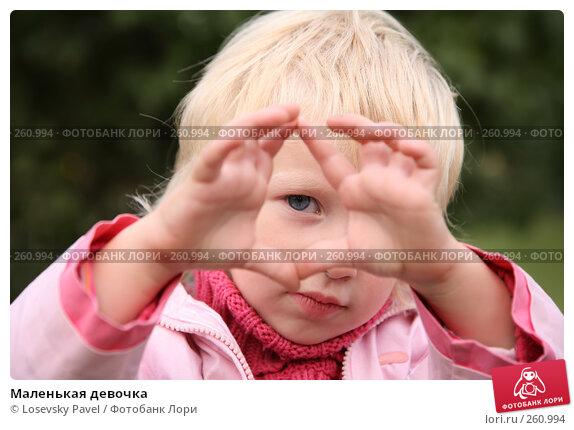 Маленькая девочка, фото № 260994, снято 10 декабря 2016 г. (c) Losevsky Pavel / Фотобанк Лори