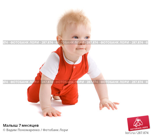 Малыш 7 месяцев, фото № 287874, снято 29 февраля 2008 г. (c) Вадим Пономаренко / Фотобанк Лори