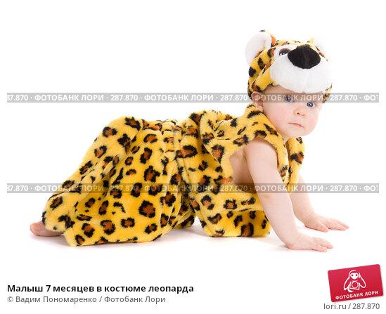 Малыш 7 месяцев в костюме леопарда, фото № 287870, снято 29 февраля 2008 г. (c) Вадим Пономаренко / Фотобанк Лори
