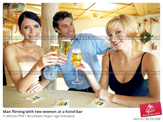 Wife Flirting At Bar Hotel