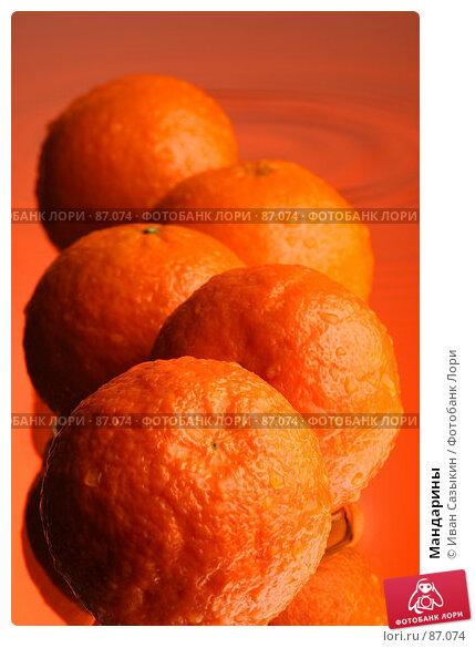 Мандарины, фото № 87074, снято 18 января 2004 г. (c) Иван Сазыкин / Фотобанк Лори