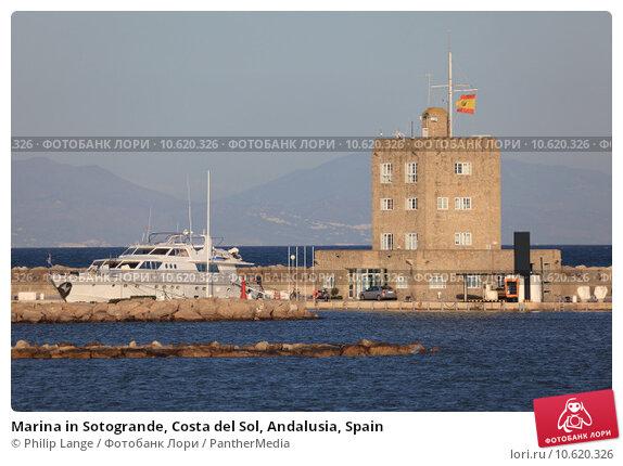 Marina in Sotogrande, Costa del Sol, Andalusia, Spain. Стоковое фото, фотограф Philip Lange / PantherMedia / Фотобанк Лори