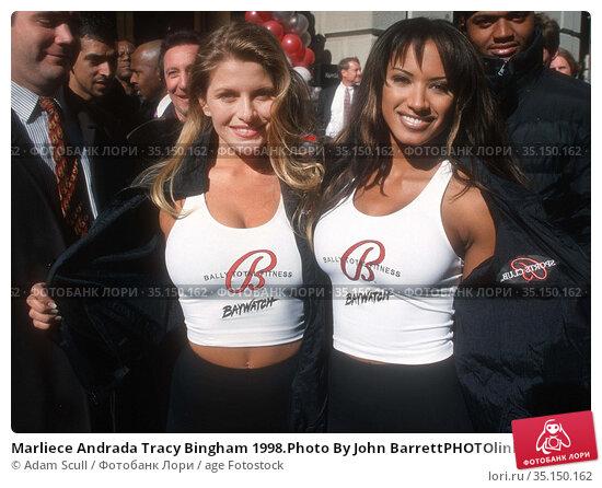 Marliece Andrada Tracy Bingham 1998.Photo By John BarrettPHOTOlink... Редакционное фото, фотограф Adam Scull / age Fotostock / Фотобанк Лори