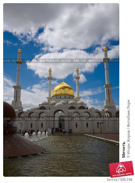 Мечеть, фото № 339158, снято 10 августа 2007 г. (c) Игорь Жоров / Фотобанк Лори